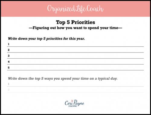 Snapshot of Part of the Free Priorities PDF